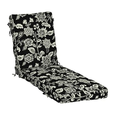 Indulge Plush Fill Patio Chaise, Chaise Lounge Patio Chair Cushions