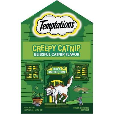 Temptations Creepy Catnip Haunted House Cat Treats - 16oz