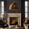 Large Seagrass Pendant Table Lamp Brown - Threshold™ designed with Studio McGee - image 3 of 4
