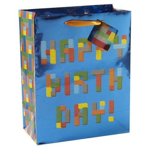 Medium Happy Birthday Gift Bag - Spritz™ - image 1 of 1