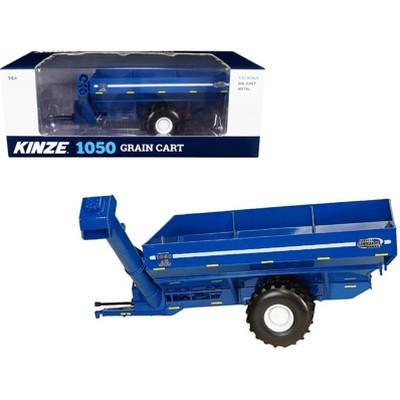 Kinze 1050 Grain Cart with Flotation Tires Blue 1/32 Diecast Model by SpecCast