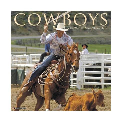 Cowboys 2019 Calendar Paperback Target