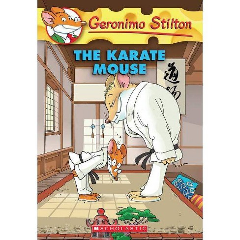 Geronimo Stilton #40: Karate Mouse - (Paperback) - image 1 of 1