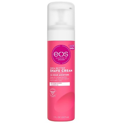 eos Shea Better Shave Cream - Pomegranate Raspberry - 7 fl oz