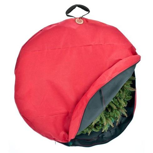 "TreeKeeper 24"" Wreath Storage Bag - image 1 of 4"