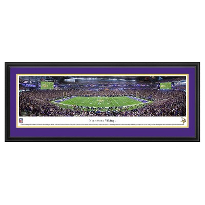 NFL Blakeway Stadium Panoramic - Deluxe Framed Wall Art