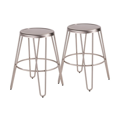Avery Industrial Metal Counter Stool - Lumisource - image 1 of 5