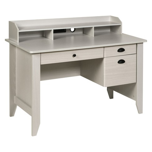 Executive Desk With Hutch Usb And Charger Hub Onespace