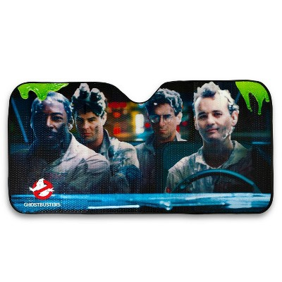 Just Funky Ghostbusters Original Cast Windshield Sunshade Car Shade Panel