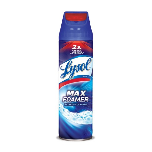 Lysol Max Foamer Bathroom Cleaner 19oz - image 1 of 4
