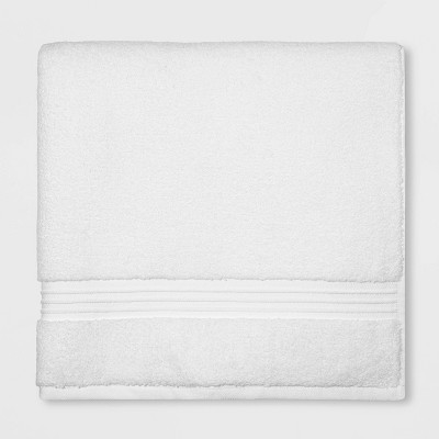 Spa Bath Sheet White - Threshold Signature™