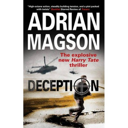 Deception - (Harry Tate Thriller) by  Adrian Magson (Hardcover) - image 1 of 1