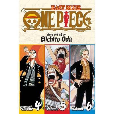 One Piece: East Blue 4-5-6, Vol. 2 (Omnibus Edition) - (One Piece 3 in 1) by  Eiichiro Oda (Paperback)