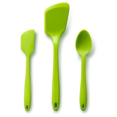 GIR Mini Silicone Kitchen Tool 3pc Set Lime