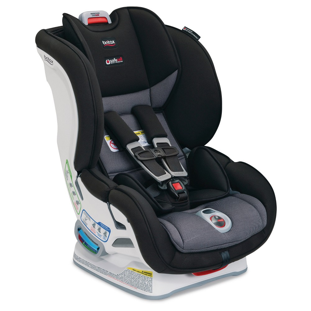 Image of Britax Marathon ClickTight Convertible Car Seat - Black
