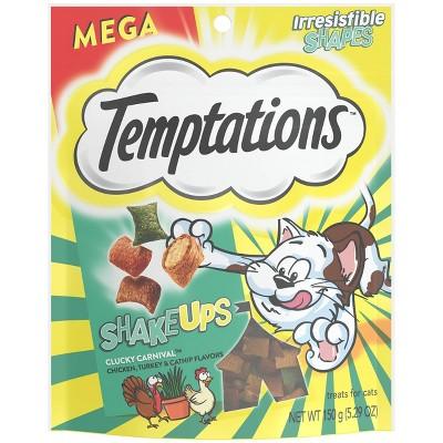 Temptations Shake Ups Clucky Carnival Crunchy Cat Treats - 5.29oz