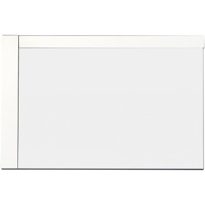 "35.5"" D1 Modern Plywood Veneer Mirror White - American Imaginations"