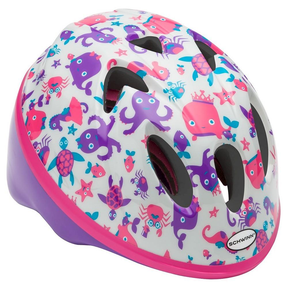 Schwinn Infant Girl's Mix Pack Helmet - Octopus, Multi-Colored
