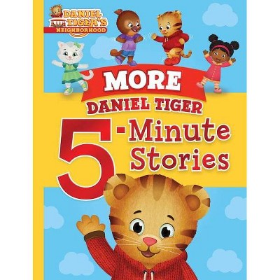 More Daniel Tiger 5-Minute Stories (Daniel Tiger's Neighborhood)(Hardcover)