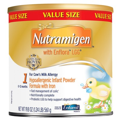 Enfamil Nutramigen with Enflora LGG Infant Formula Powder - 19.8oz