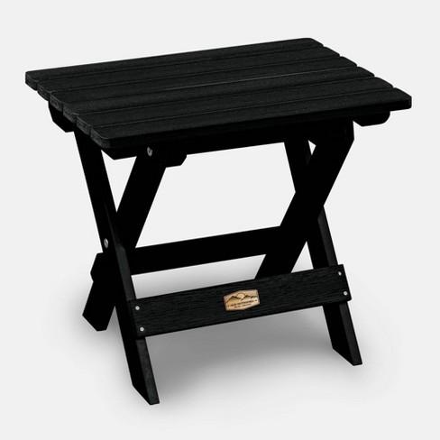 Patio Folding Side Table Elk Outdoors