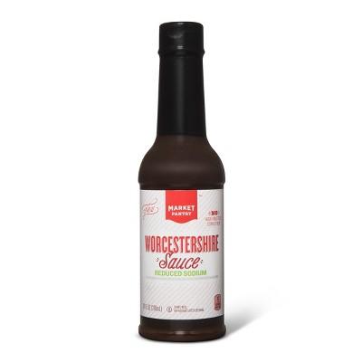 Worcestershire Sauce Reduced Sodium 10oz - Market Pantry™