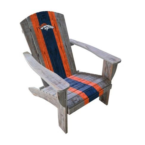 NFL Denver Broncos Wooden Adirondack Chair - image 1 of 2