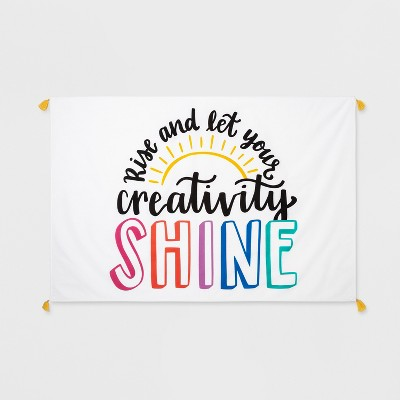 Let Your Creativity Shine Wall Tapestry - Pillowfort™