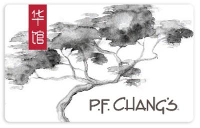 P.F. Changs Gift Card