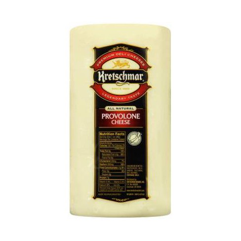 Kretschmar Provolone Cheese - price per lb - image 1 of 3