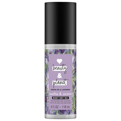 Love Beauty and Planet Dry Lavender Body Oil - 4 fl oz