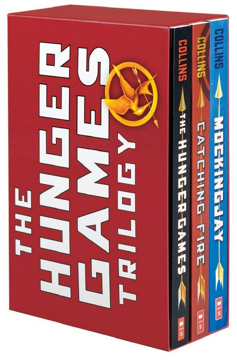 The Hunger Games Trilogy ( Hunger Games) (Paperback) - image 1 of 1