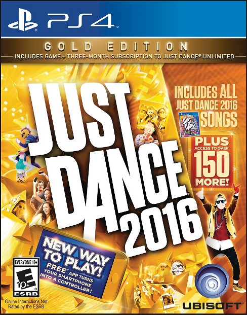 Just Dance 2016 Gold Edition PlayStation 4 - image 1 of 2