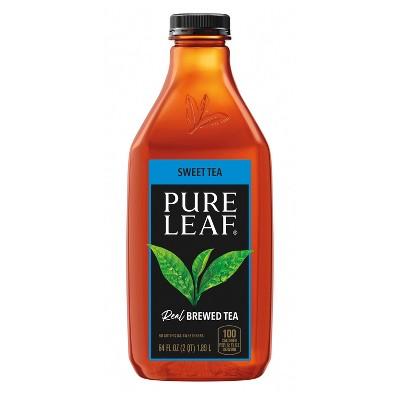 Pure Leaf Sweet Tea Iced Tea - 64 fl oz Bottle