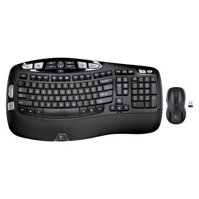Logitech MK550 Wireless Keyboard and Mouse Set - Black (920-002555)