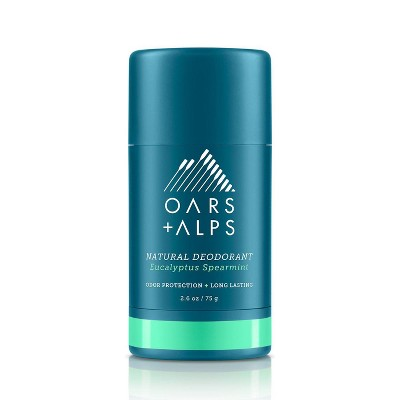 Oars + Alps Men's Aluminum-Free Natural Deodorant - Eucalyptus Spearmint - 2.6oz