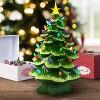 Mr. Christmas Large Ceramic Tree Decorative Figurine Green - image 2 of 2