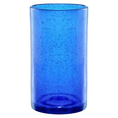 Artland Iris 17oz 4pk Highball Glasses Blue