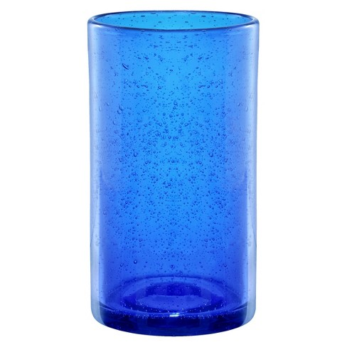 Artland Iris 17oz 4pk Highball Glasses Blue - image 1 of 1