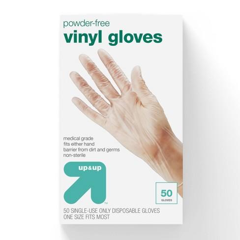 Vinyl Exam Gloves - 50ct - Up&Up™ - image 1 of 4