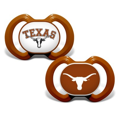 NCAA Texas Longhorns 2pk Pacifier
