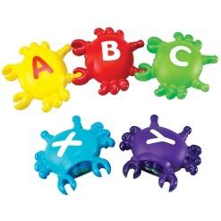 Learning Resources Smart Splash Letter Link Crabs, 26 pc