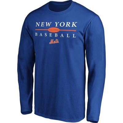 MLB New York Mets Men's Long Sleeve Core T-Shirt