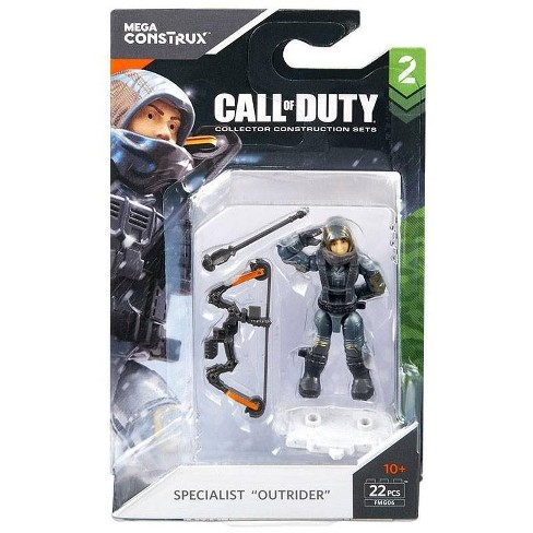 Call Of Duty Mega Construx Specialists Series 2 Specialist Outrider Mini Figure Target
