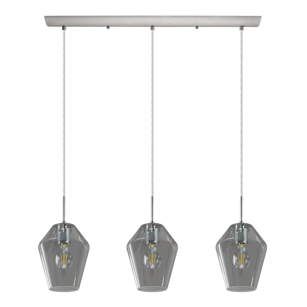 Image of Murillo 3 Light Linear Pendant Gray - EGLO