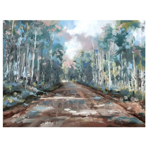 Long Way Home By Studio Arts Wrapped Unframed Wall Canvas - Masterpiece Art Gallery - image 1 of 4