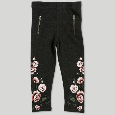 Afton Street Toddler Girls' Pants - Gray 18M