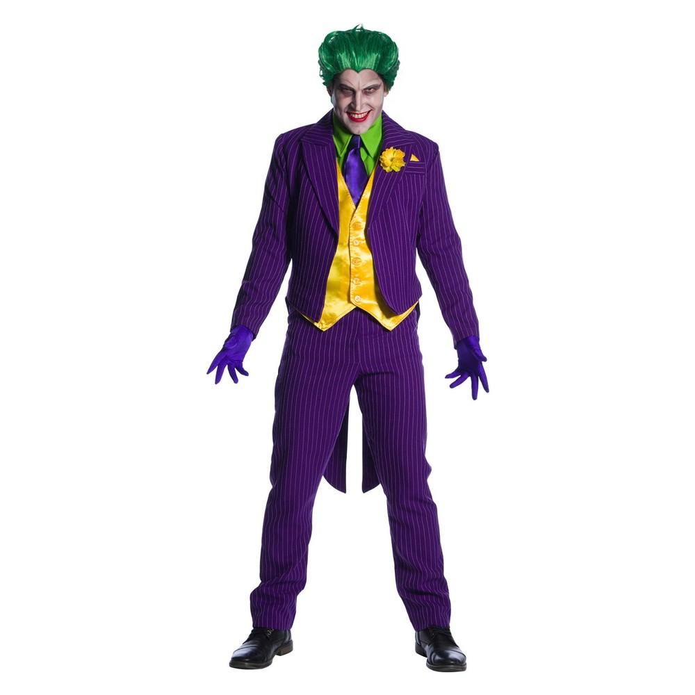 Men's DC Comics Joker Halloween Costume L, Multicolored