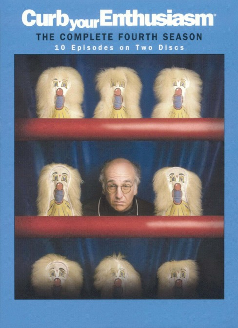 Curb Your Enthusiasm: The Complete Fourth Season [2 Discs] - image 1 of 1