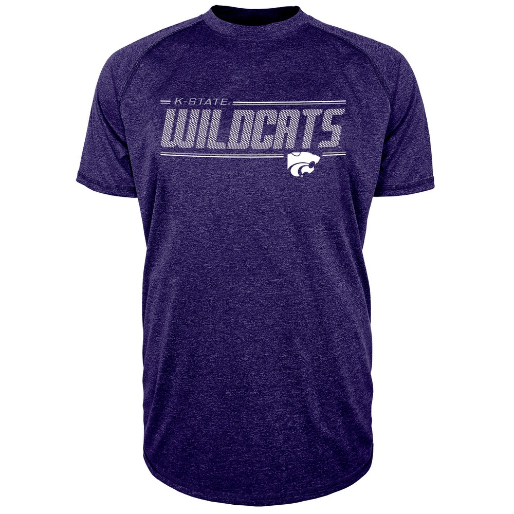 Kansas State Wildcats Men's Team Speed Poly Performance T-Shirt L, Multicolored